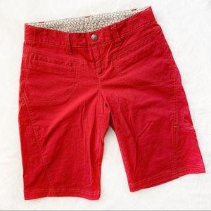 Pants - Athleta Bermuda Dipper Short Red Size 2